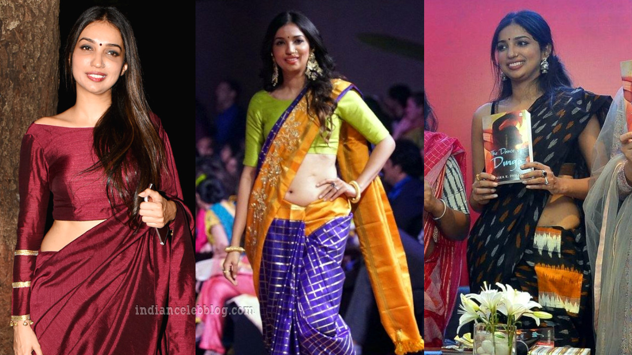Kanika dhillon bollywood celeb event pics in saree