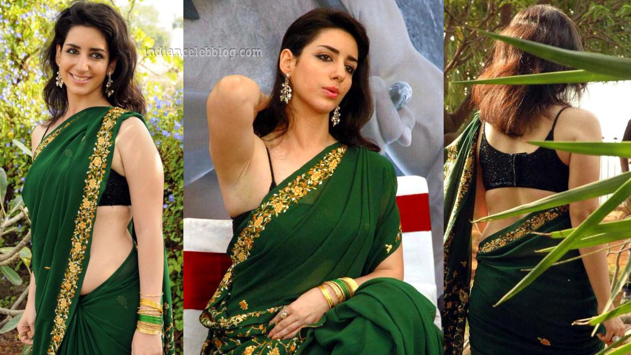 Kriya telugu event sexy sleeveless sari pics