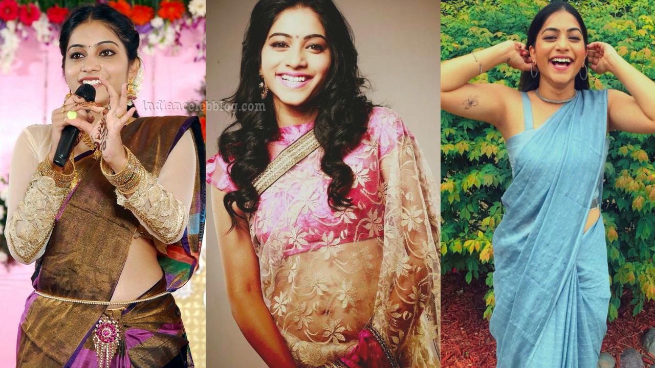 Punarnavi bhupalam telugu film actress hot sari social media pics