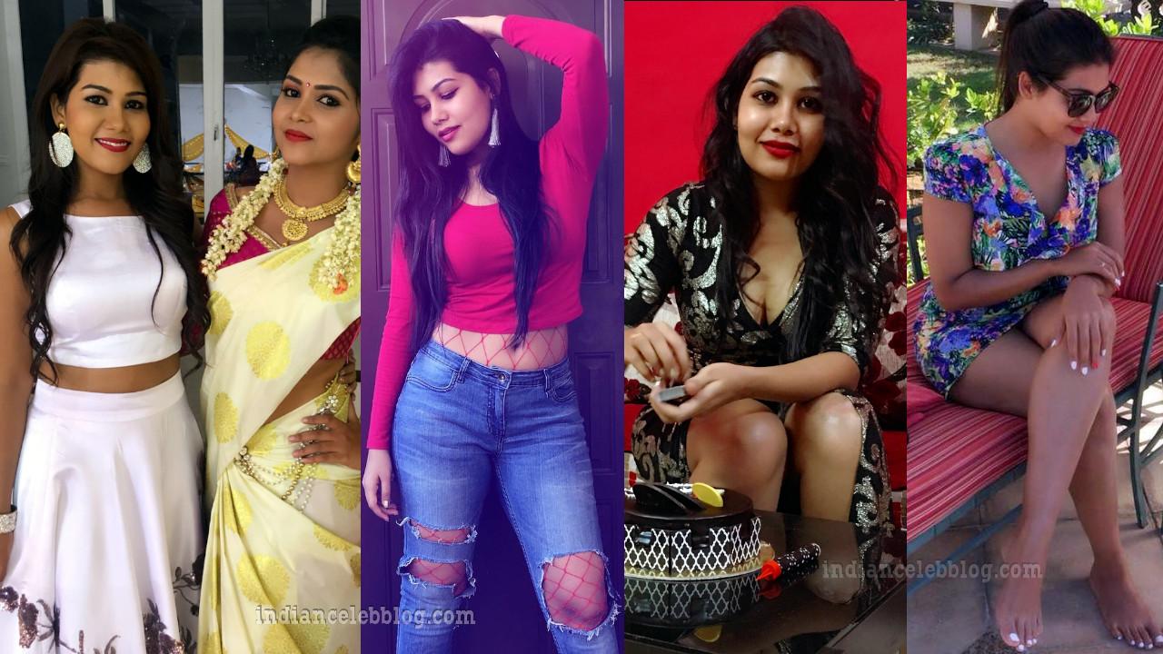 Rachana smith south film and tv actress hot social media pics