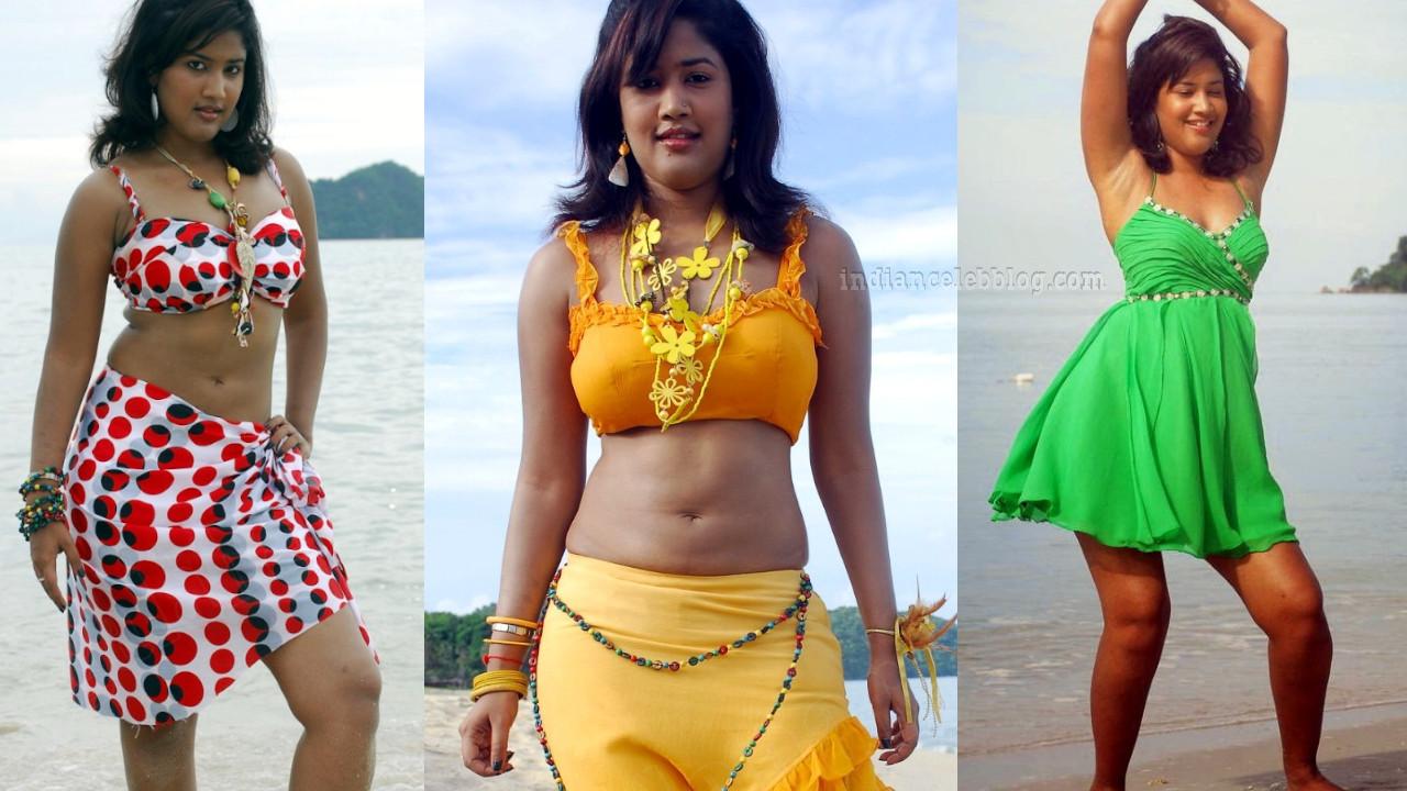 Soumya bollapragada telugu actress hot swimsuit stills