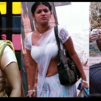 Yamini bhaskar telugu actress hd caps in half saree