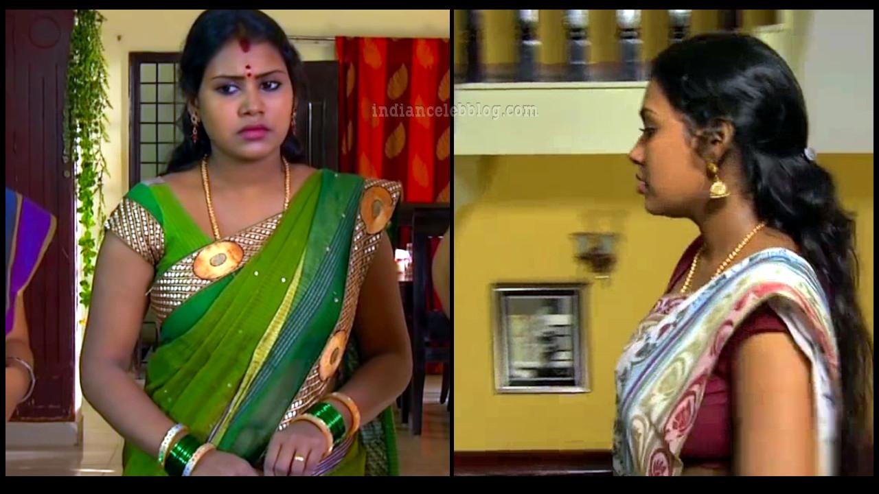 Soniya tamil tv serial actress HD sari caps