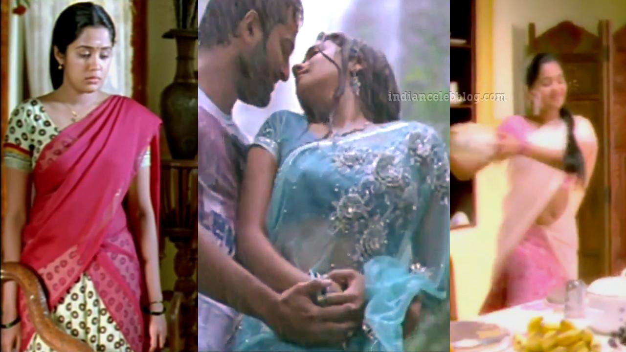Ananya nair malayalam actress hot in half saree