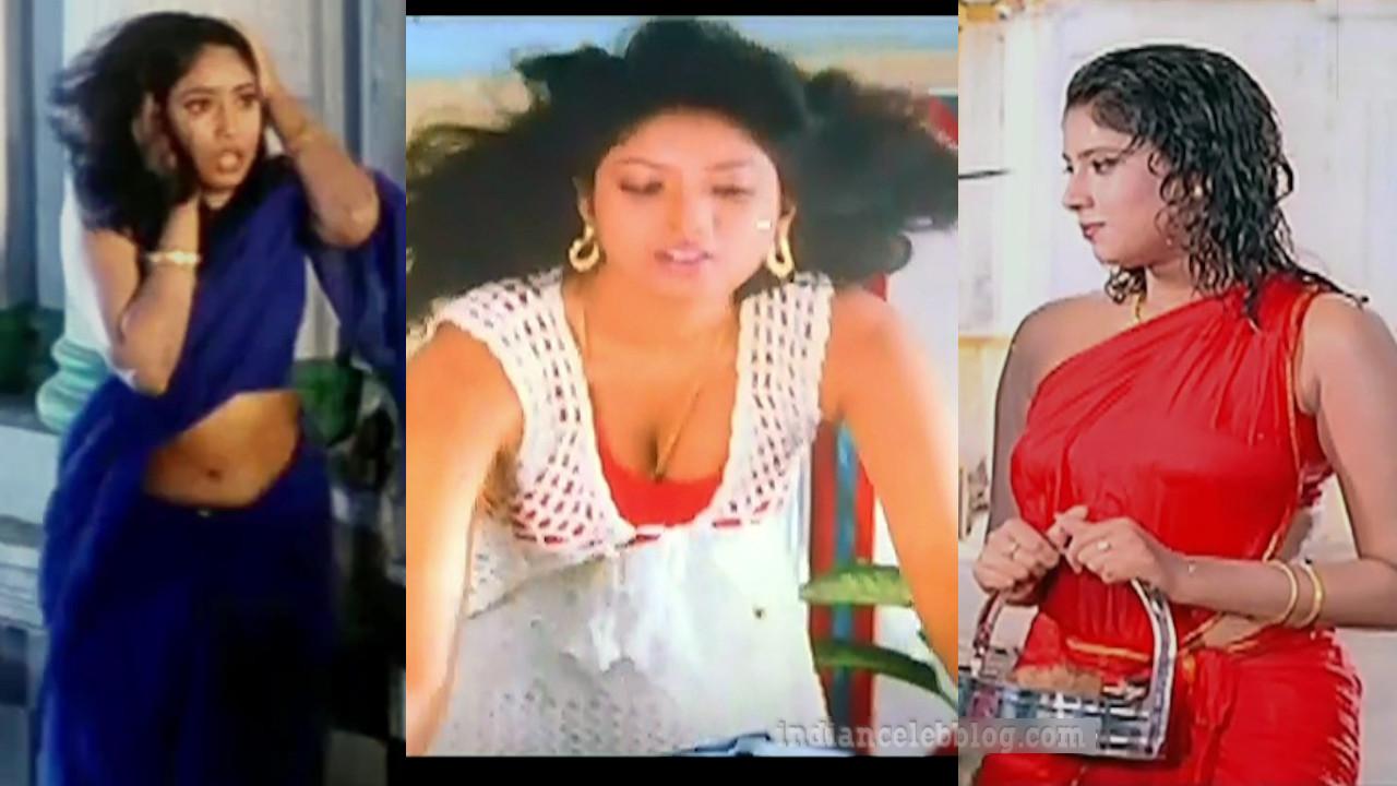 Sanghavi kollywood actress hot saree tamil movie hd caps