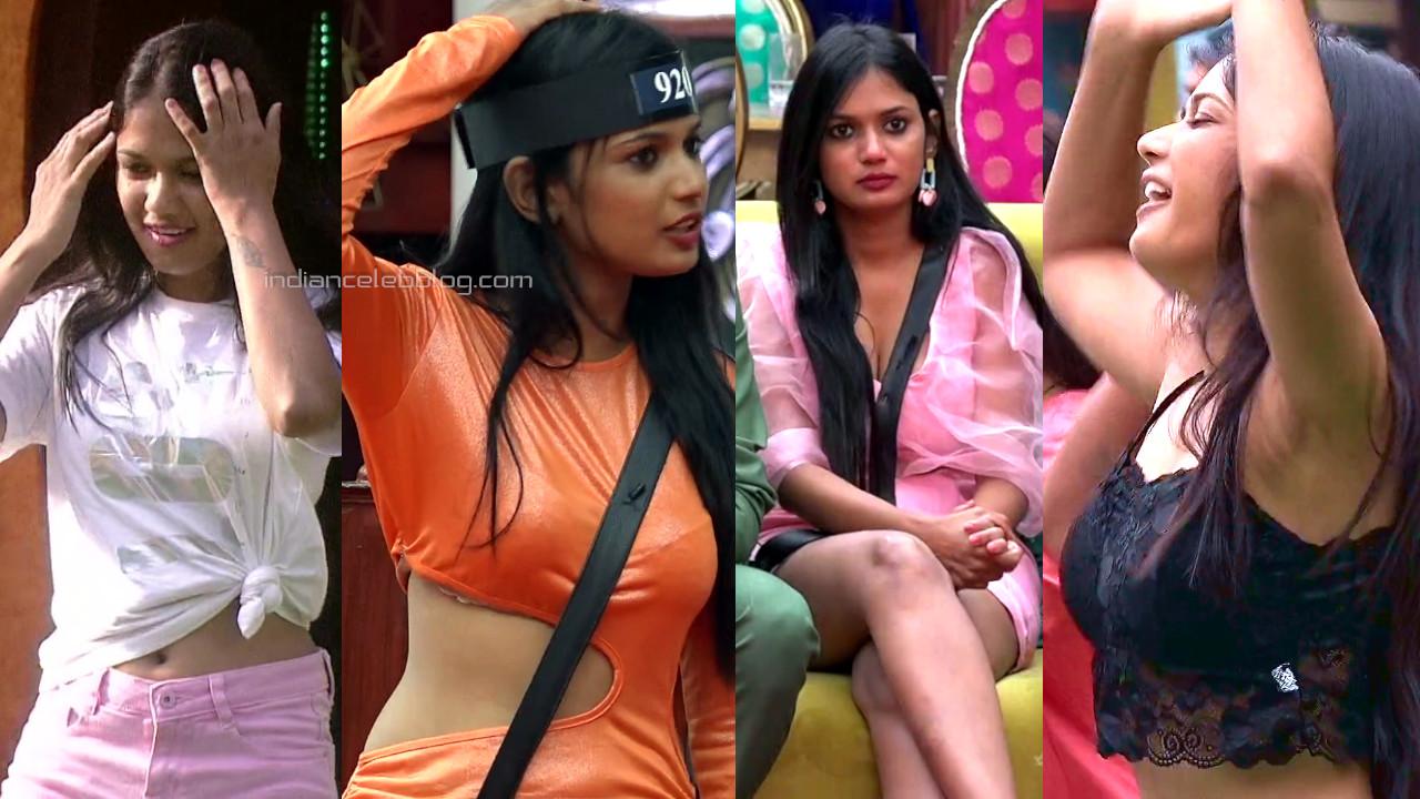 Ariyana glory bigg boss telugu 4 sexy midriff show