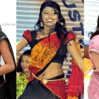 Anandhi tamil film actress hot saree pics gallery