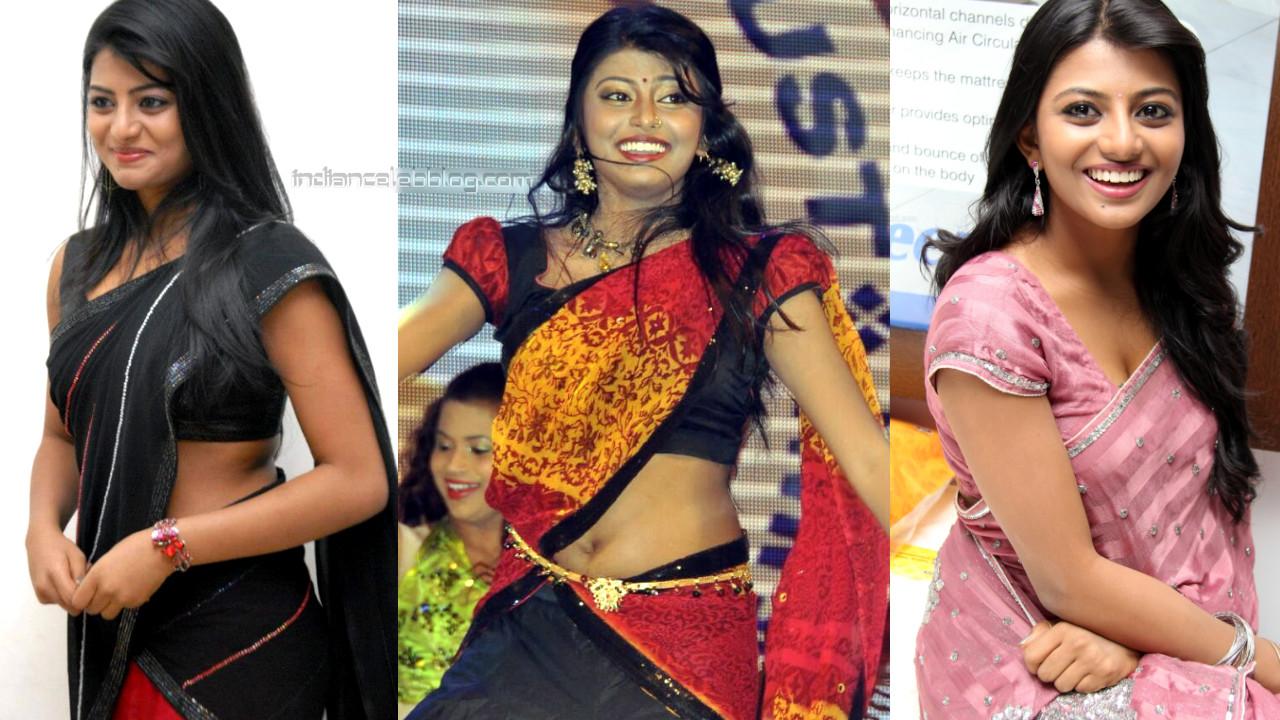 Anandhi tamil film actress hot saree pics gallery