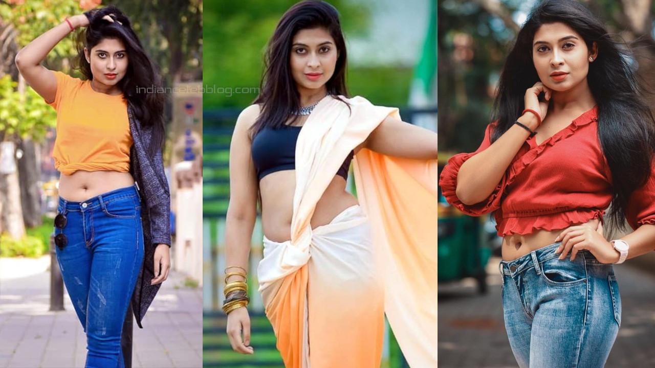 Akshitha bopaiah azhagu tamil tv serial actress hot pics