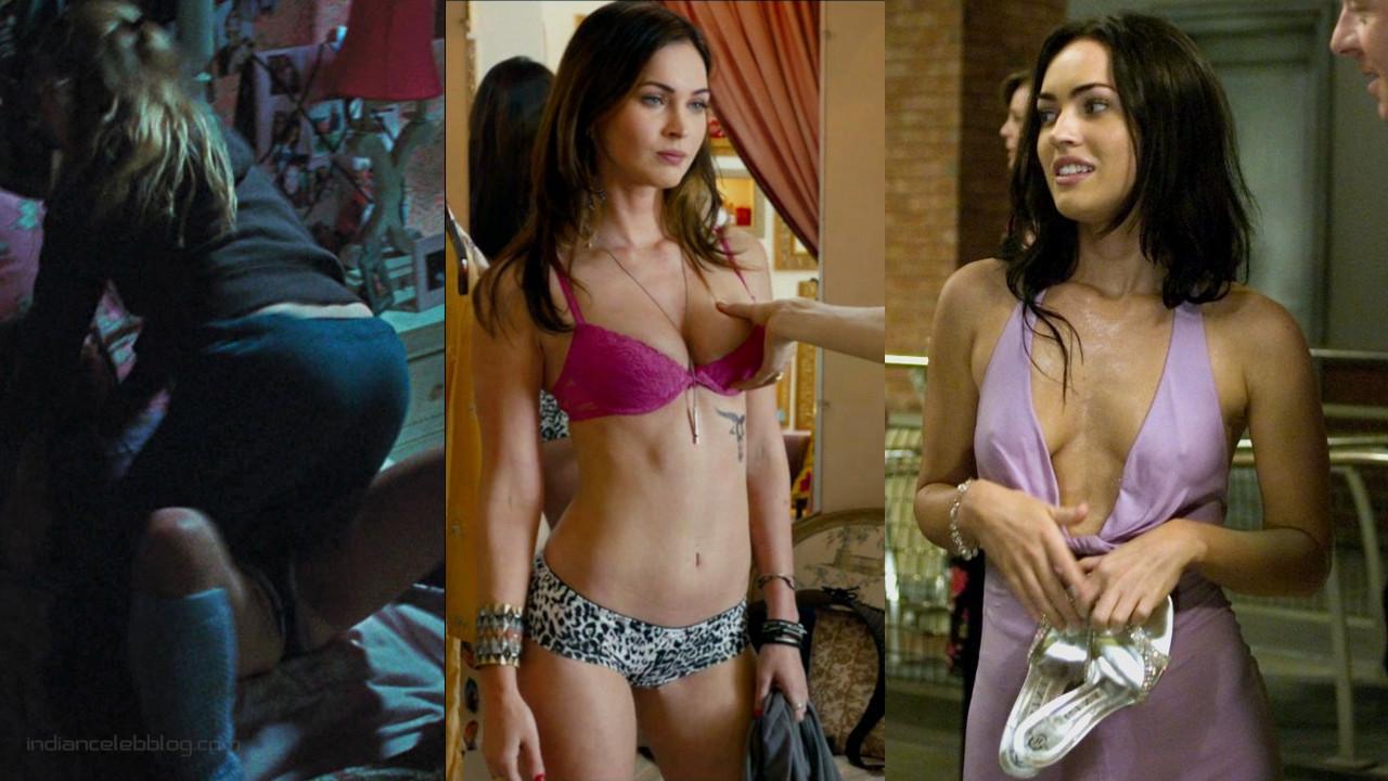 Megan fox hollywood hot underwear bikini scenes photos screenshots