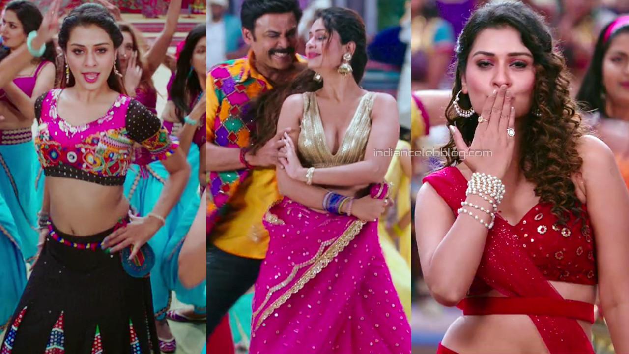 Payal rajput hot midriff show telugu song stills hd caps