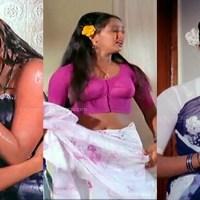 Radha tamil movie yesteryear actress saree caps