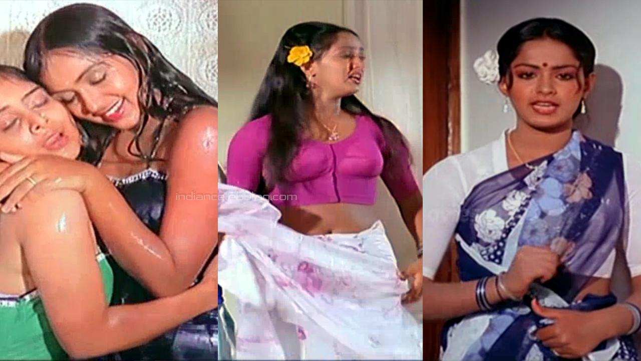 Radha tamil movie Kanne radha hot saree change pics captures