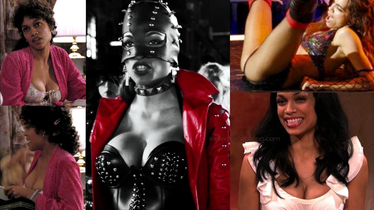 Rosario dawson sin city actress hot lingerie photos screenshots