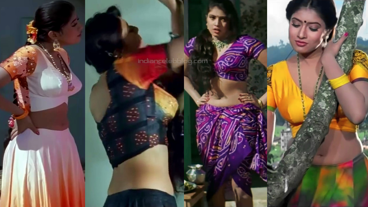 Sanghavi hot midriff cleavage show hindi movie hd caps pics