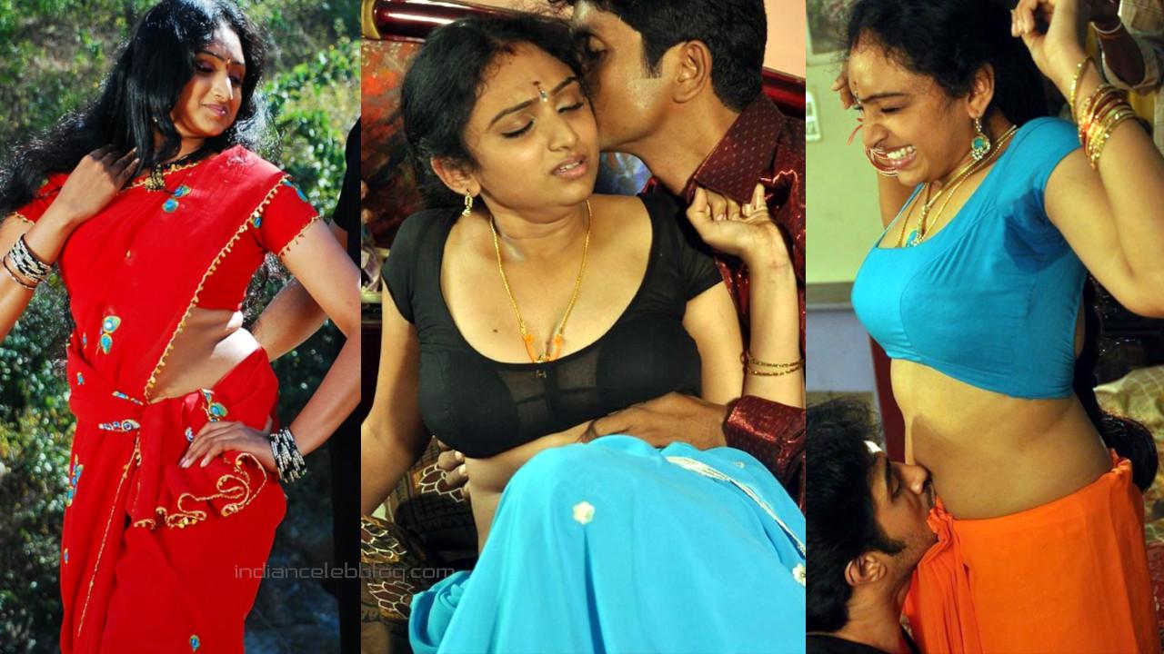 Waheeda anagarigam film actress hot saree navel photos stills