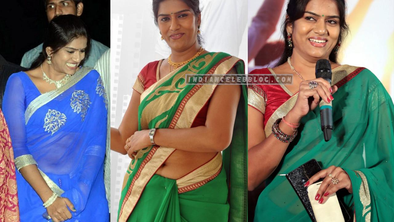Bhavana telugu actress character artist hot saree photos