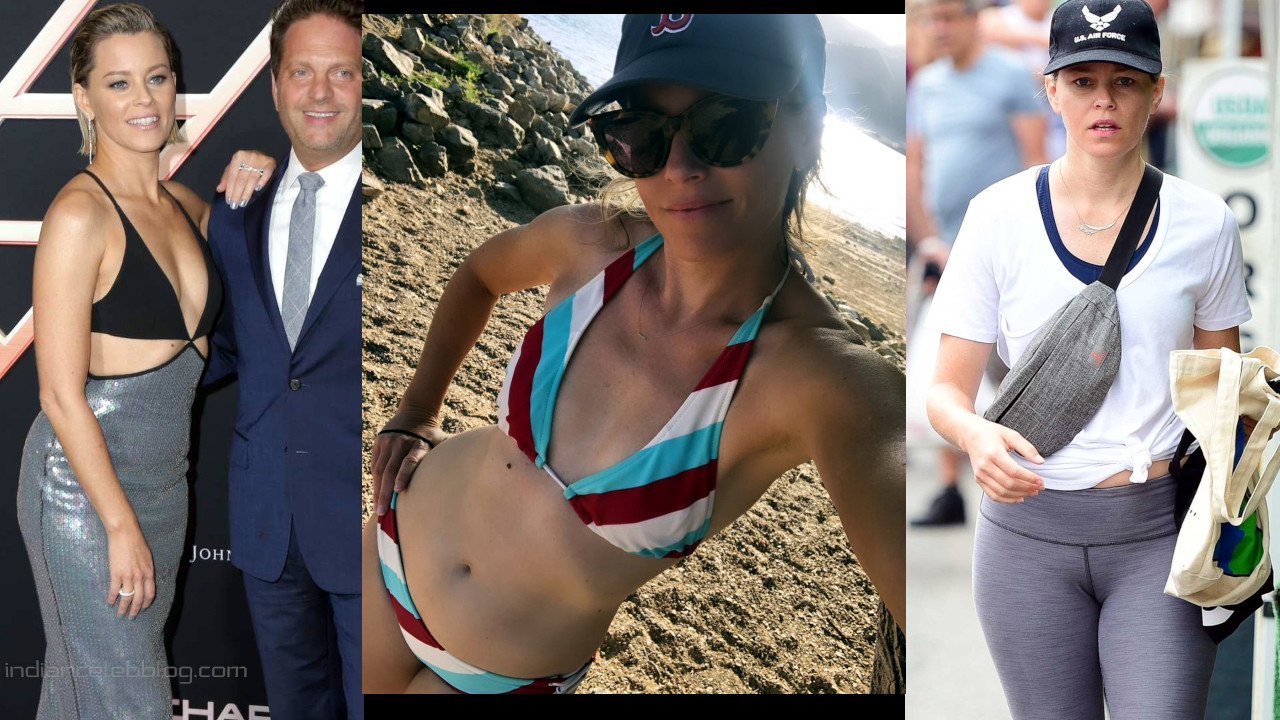 Elizabeth banks hollywood hot Red carpet Bikini and Social media pics