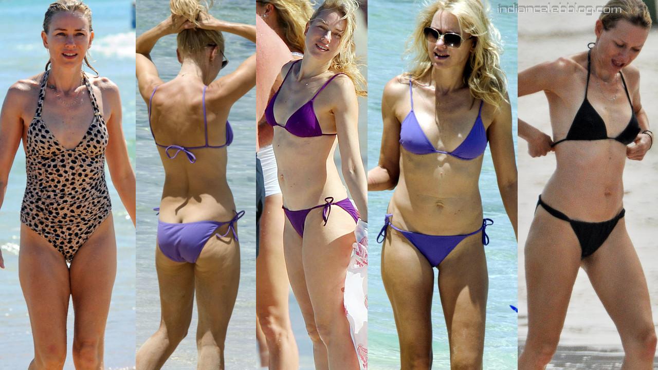 Naomi watts hollywood celeb hot bikini swimsuit candid photos