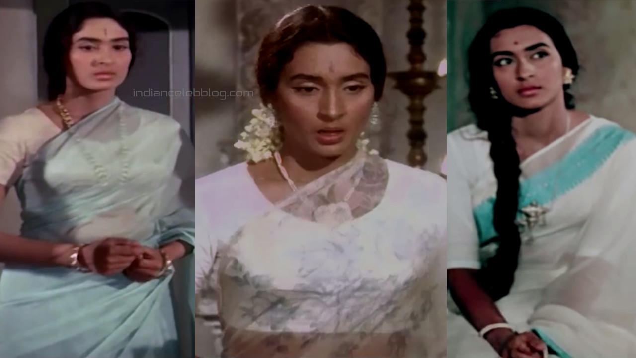 Nutan bollywood yesteryear actress saree pics caps