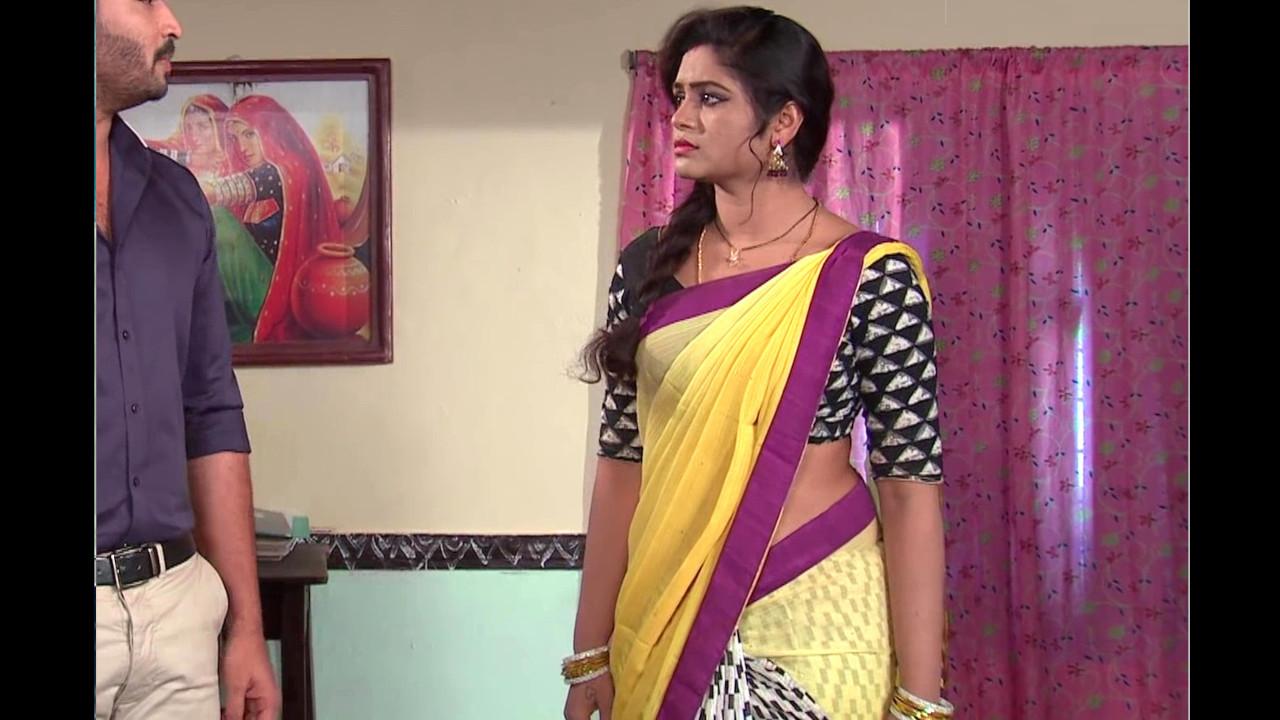 Sireesha damera Manasu mamatha telugu serial saree Video