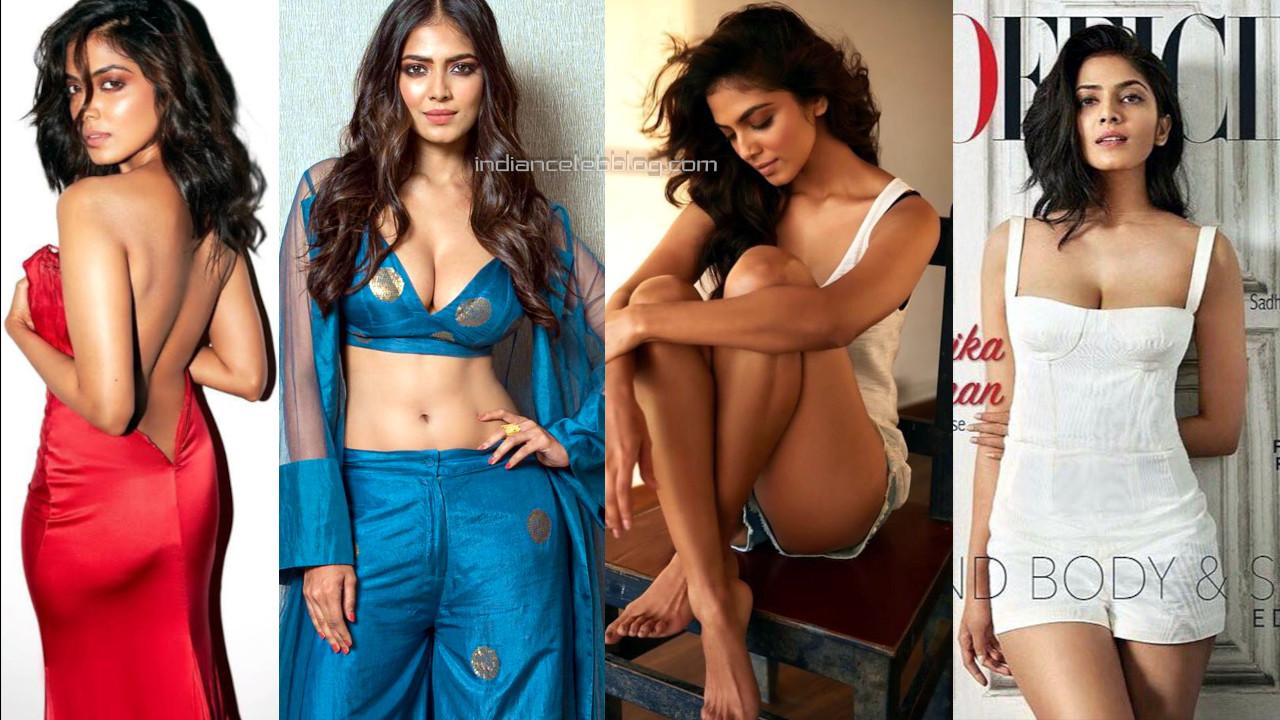 Malavika mohanan shared her hot glamorous pics on social media