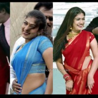 Nayanthara kollywood actress hot saree song hd caps