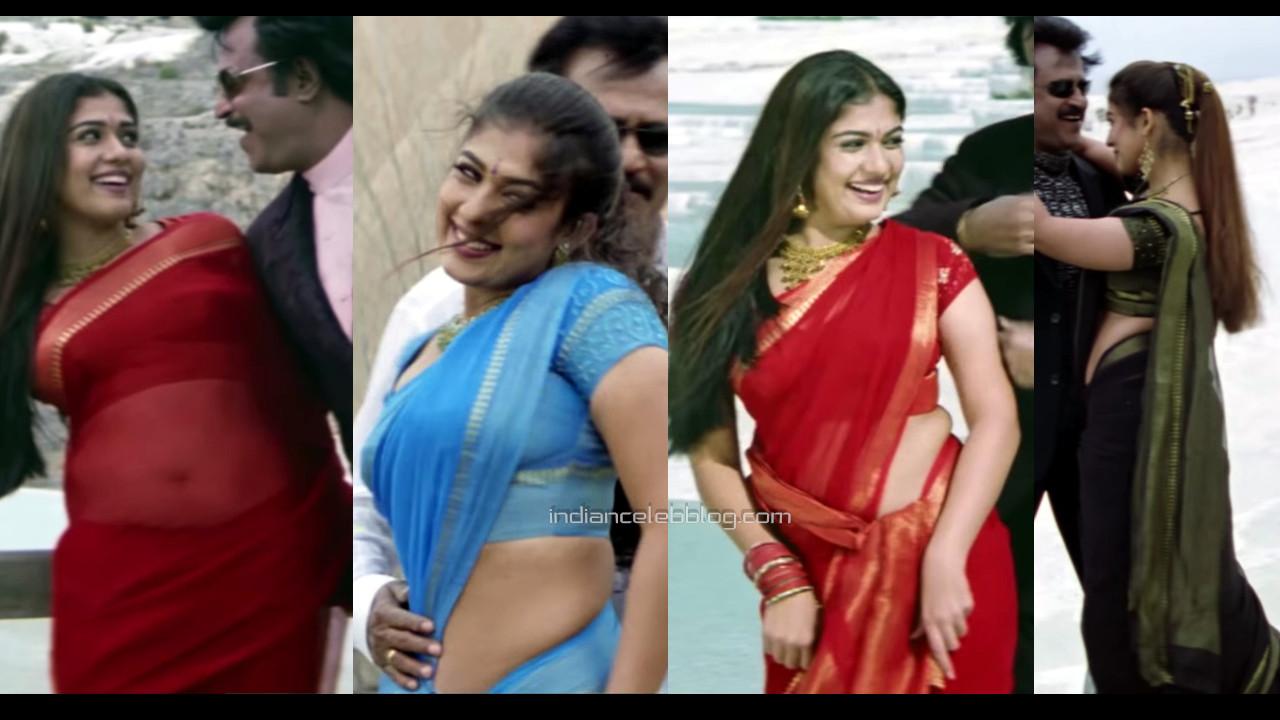 Nayanthara kollywood actress hot saree song hd caps