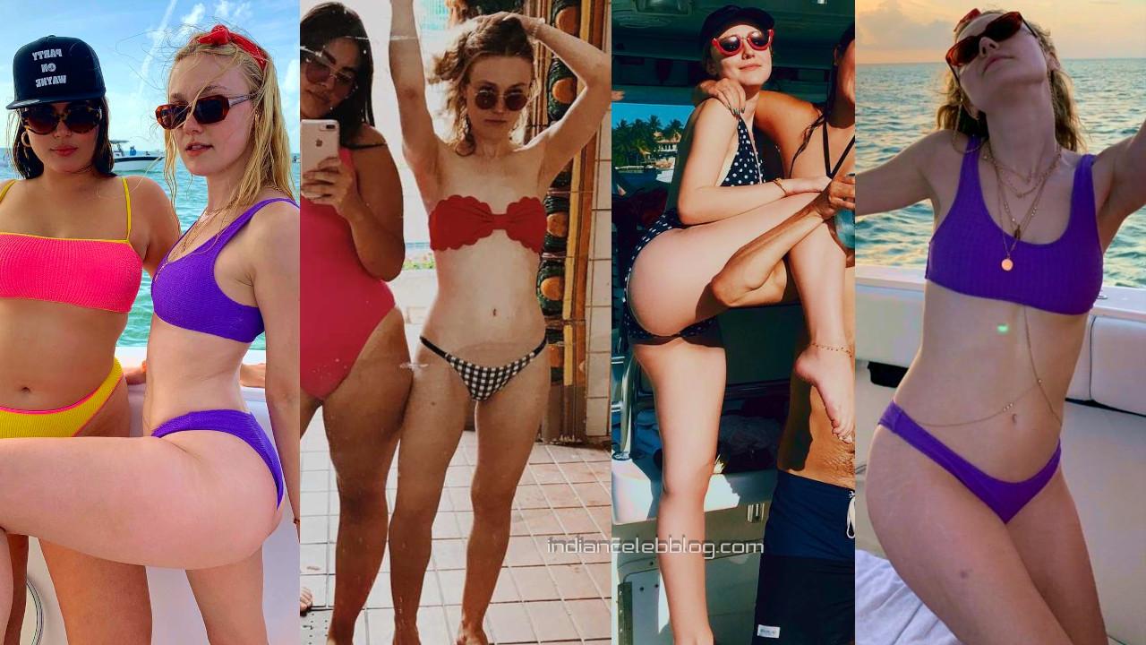 Dakota fanning american actress hot bikini social media pics