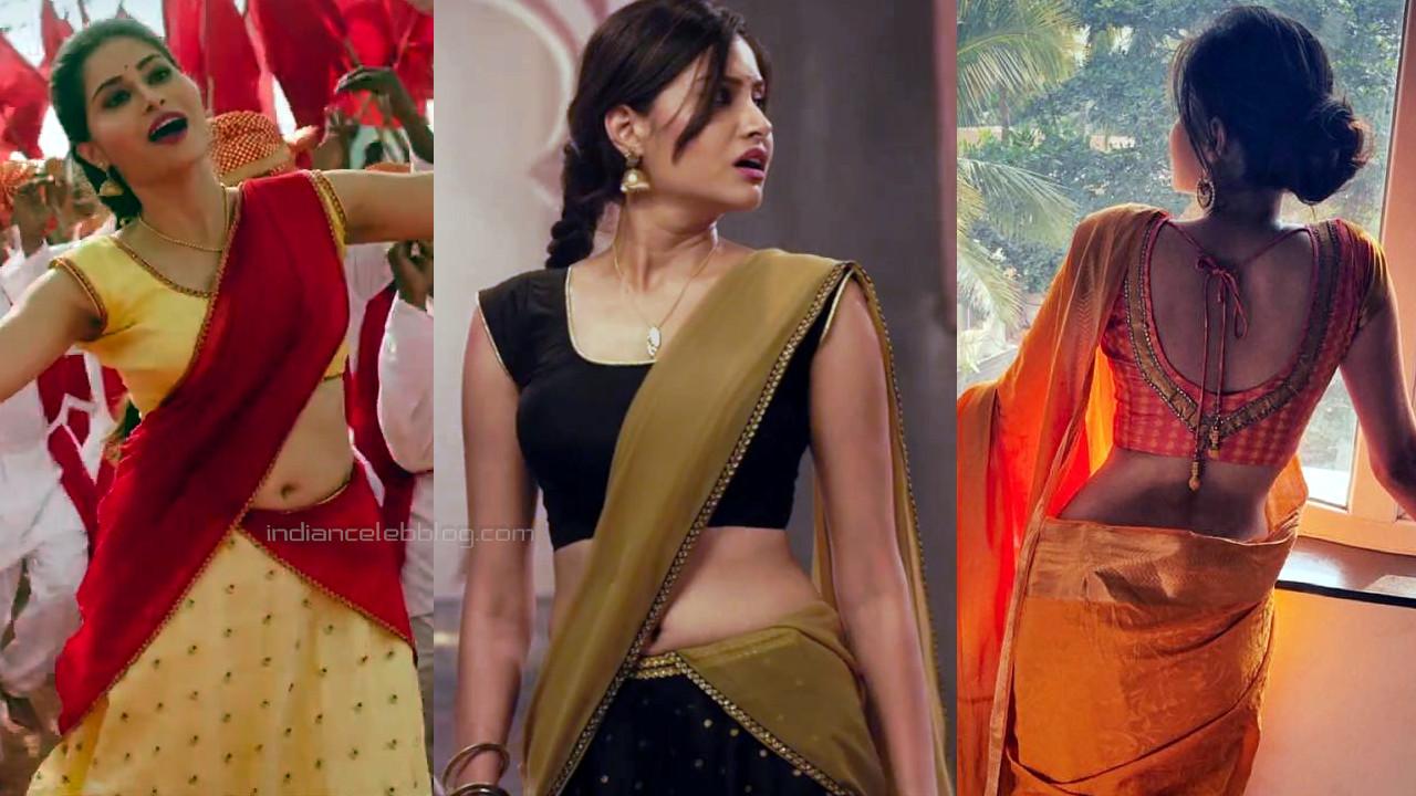 Aishwarya prasad kannada actress hot saree navel pics hd caps
