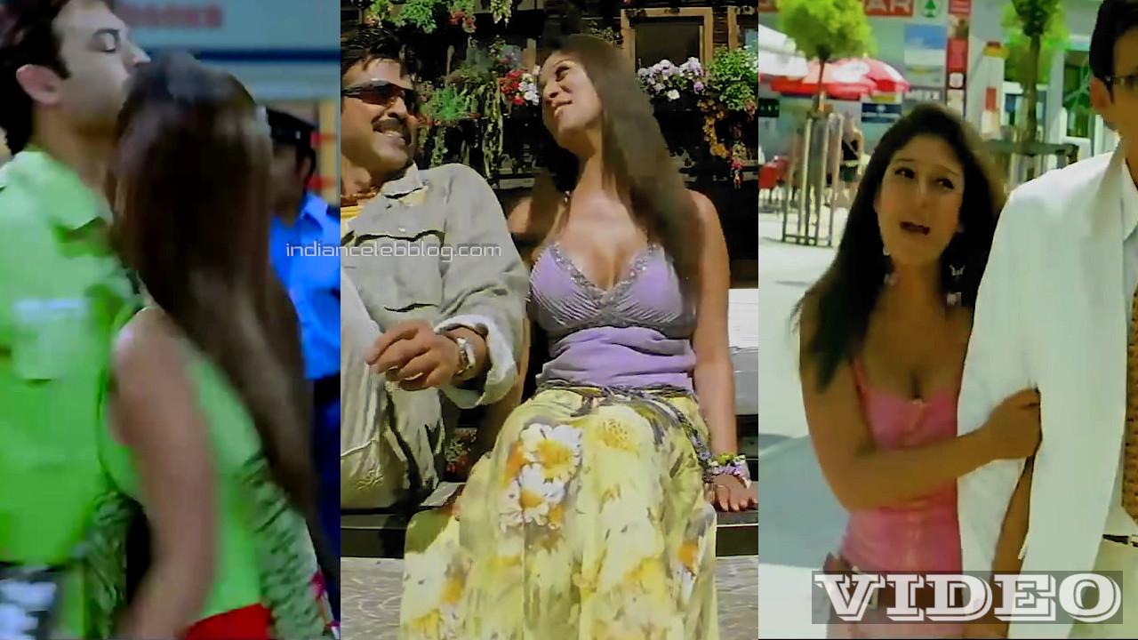 Nayanthara telugu movie sexy cleavage dance mix Video