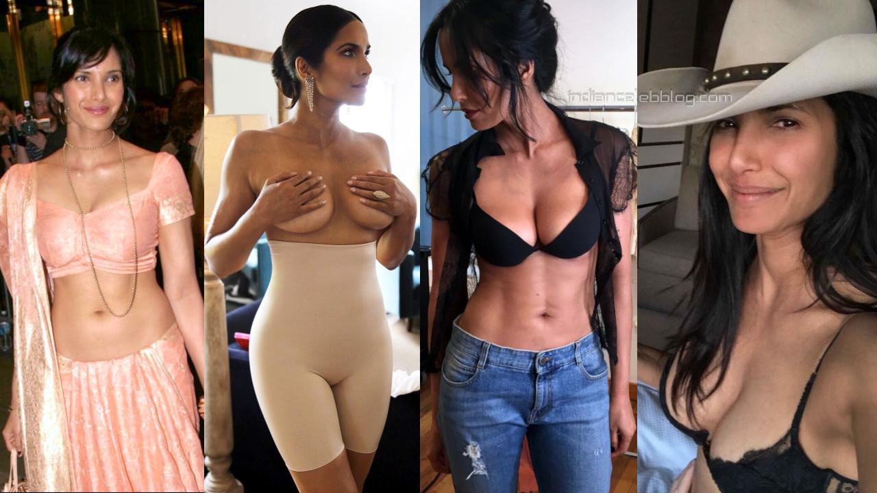 Padma lakshmi model shared her hot glamorous photos on social media
