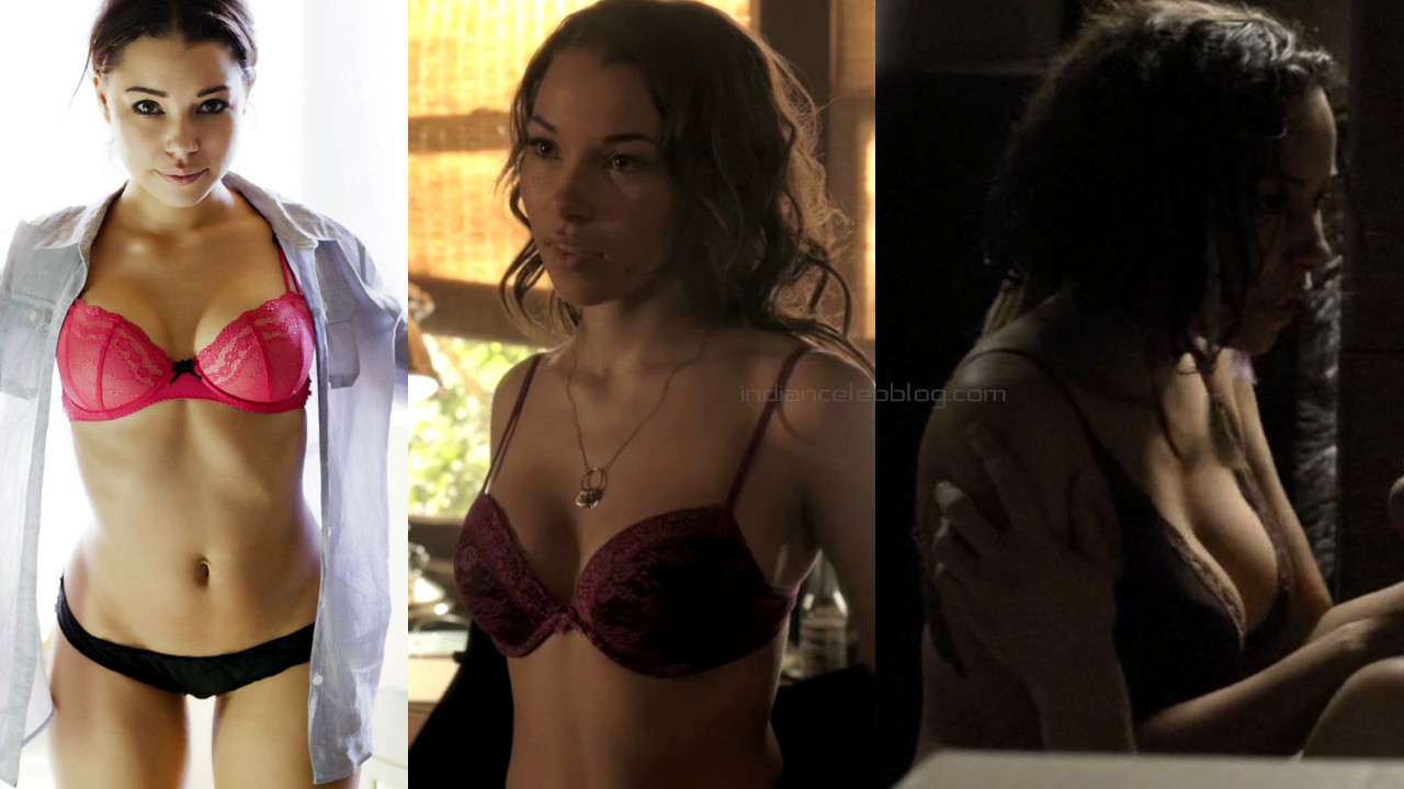 Jessica parker kennedy hot lingerie screencaps and photoshooot