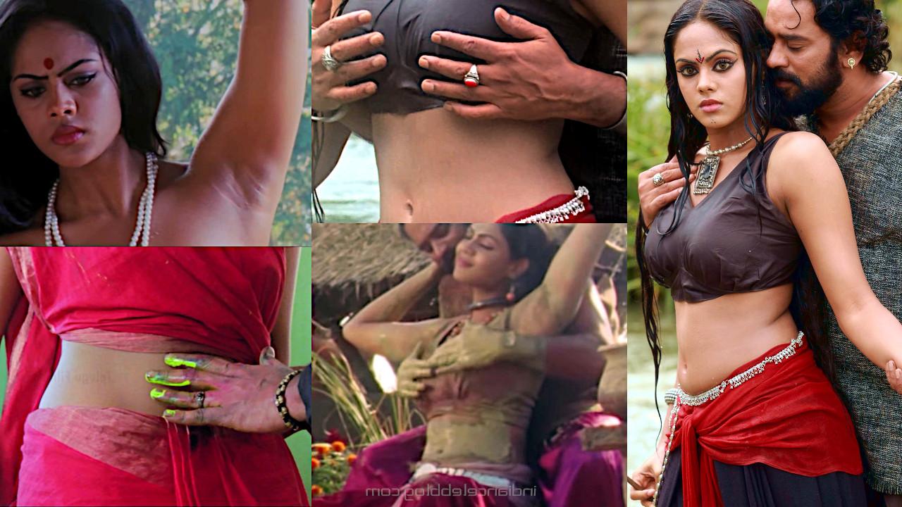 Karthika nair mallu actress hot romance makaramanju pics hd caps