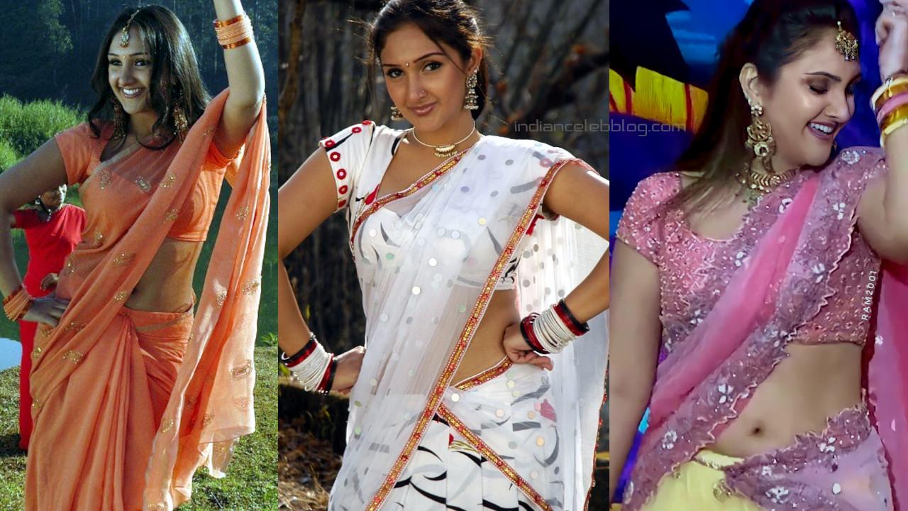 Sridevi vijaykumar telugu actress hot saree navel stills photos