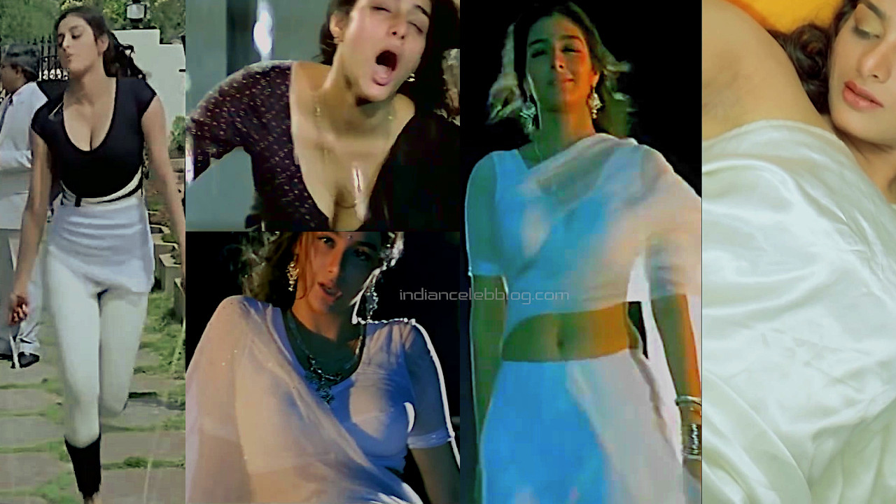 Tabu tollywood hot cleavage show coolie no 1 pics hd movie caps