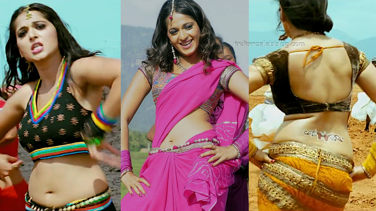 Anushka shetty vettaikaaran tamil movie hot dance stills hd caps