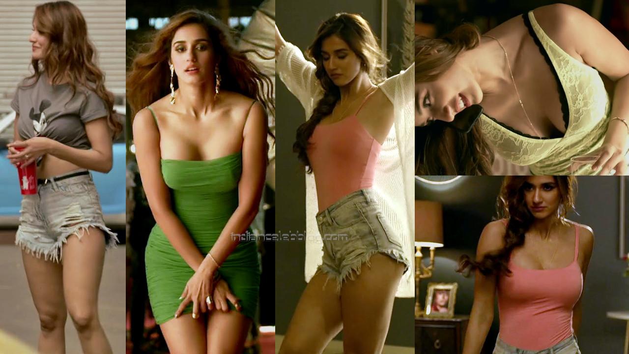 Disha patani radhe bollywood movie hot cleavage stills hd caps