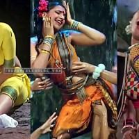 Anita raj lover boy bollywood movie sexy wet saree bath hd caps