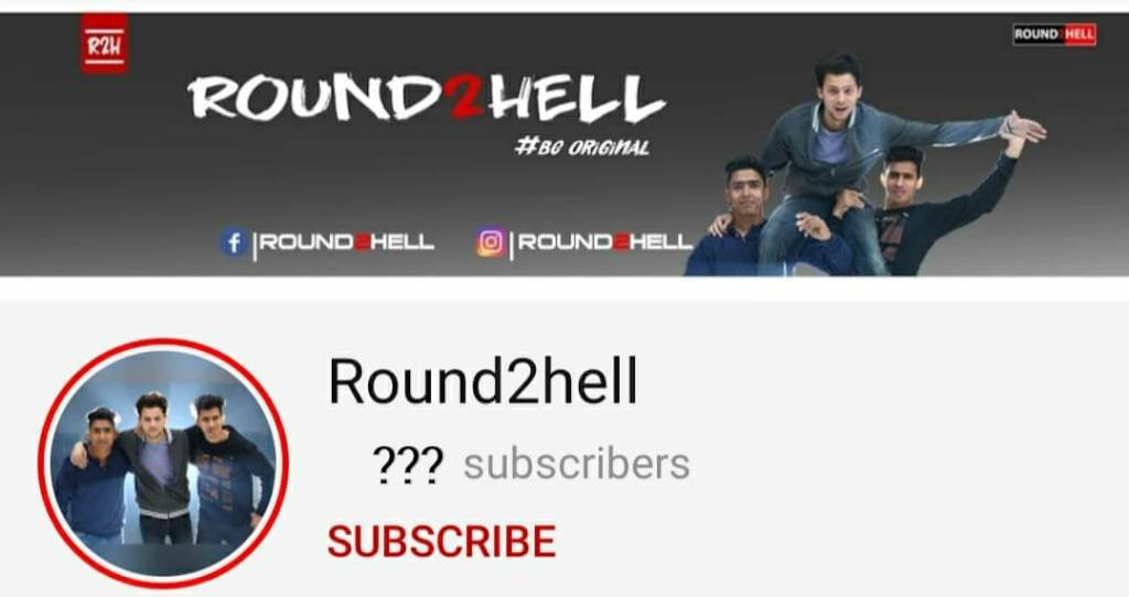 Round2hell-YouTube-channel