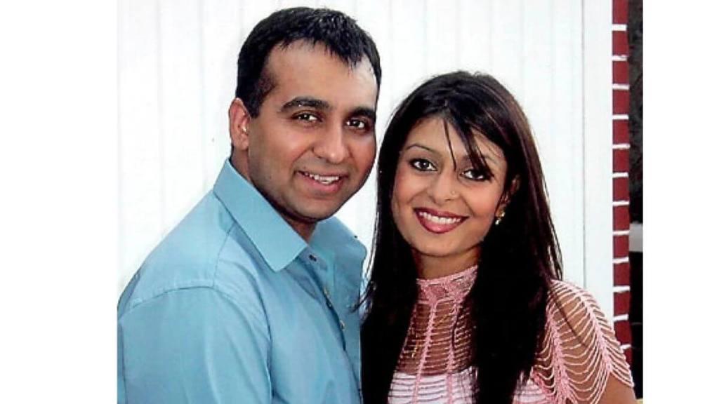 Kavita Kundra and Raj Kundra