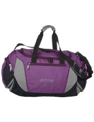 WALLETSNBAGS Unisex PVC Polyester Cruiser Travel Bag -PUrple