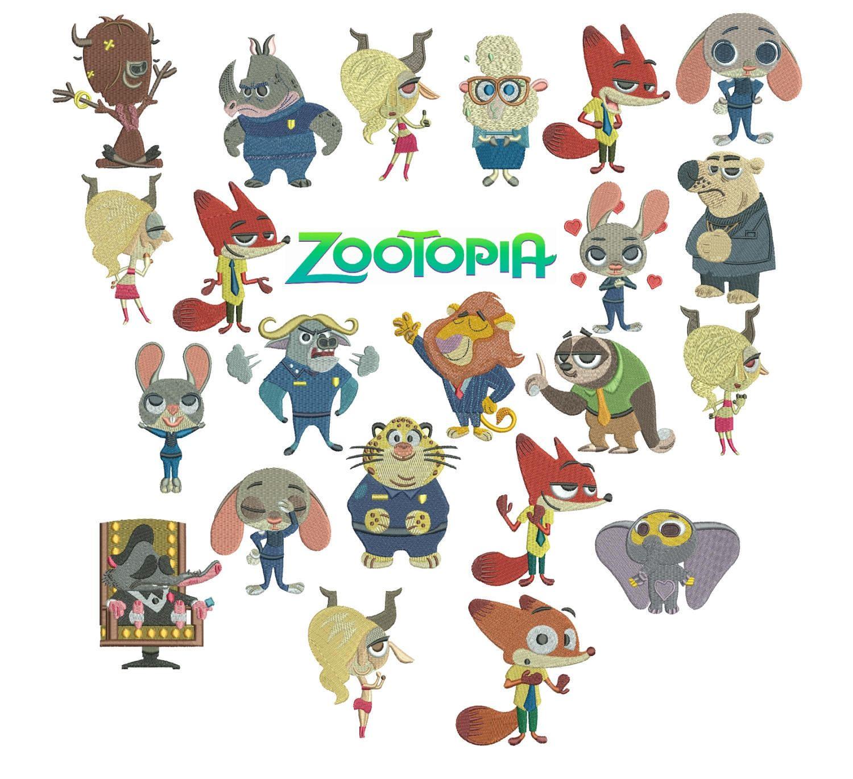 Zootopia Character Worksheet