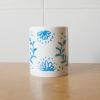 Taza inspirada en la granadina cerámica de fajalauza