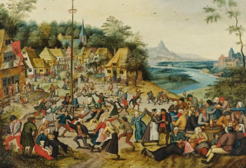 La epidemia de baile de Estrasburgo de 1518