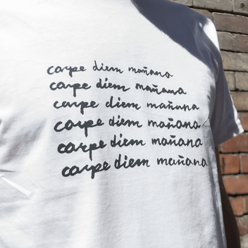 Camiseta carpe diem