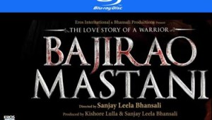 BAJIRAO MASTANI BLURAY,DVD,VCD Out Now from EROS