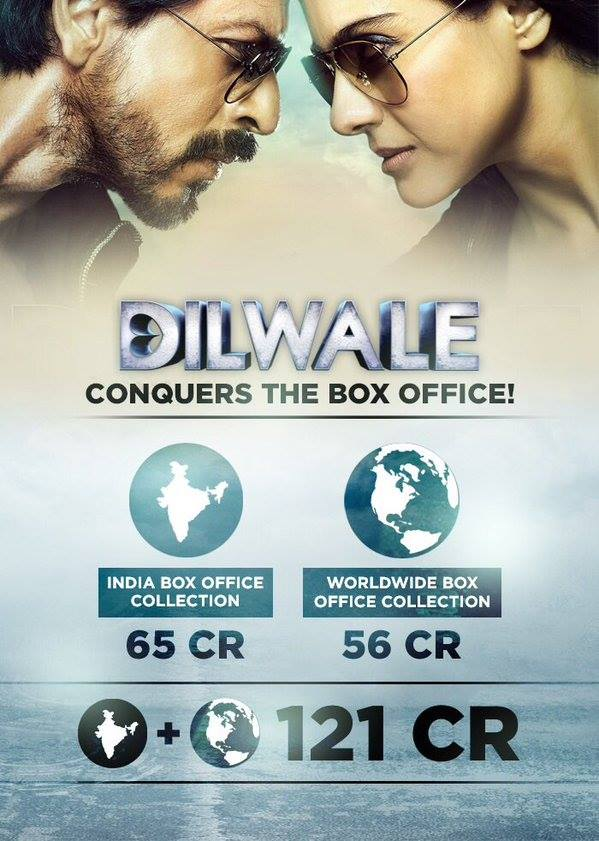 Dilwale-Bos Office