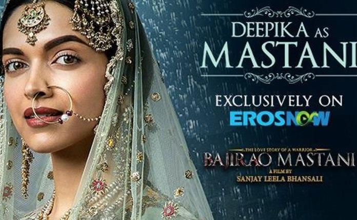 Deepika Padukone as Mastani n Bajirao Mastani