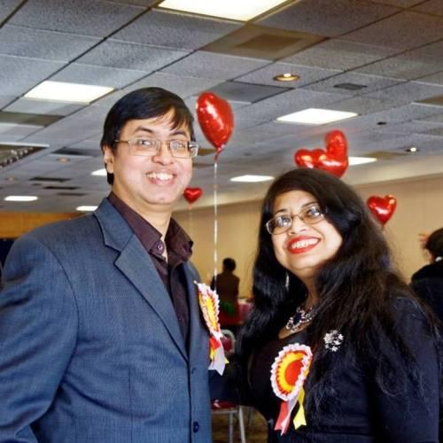 Organizers Chitro and Ruma Neogy